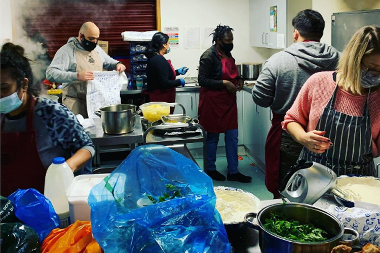 ACDA at South Norwood Soup Kitchen
